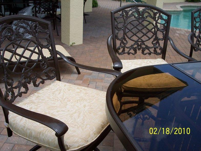 Greenstead, Inc. Sandblasting And Powdercoating Patio Furniture ...