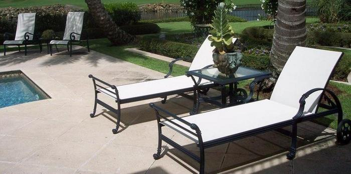 Greenstead, Inc. Sandblasting And Powdercoating Patio Furniture Refinishing